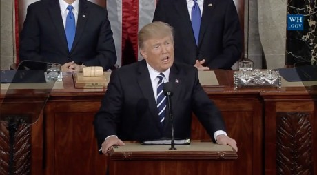 Donald Trump's Speech To A Joint Session Of Congress - Public Domain