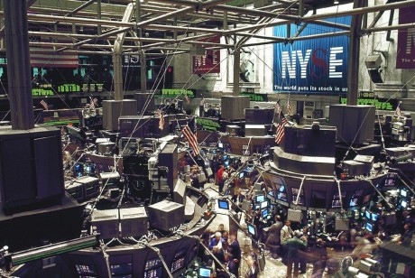 New York Stock Exchange Trading Floor - Public Domain