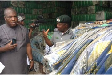 Customs to rake in N10bn from seized textile materials