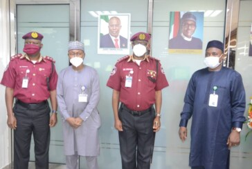 FRSC courtesy visit to DPR office in Lagos