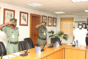 Army Head Quarters Garrison Commander visit  FCT Minister