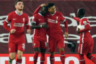 Mane Scores as Liverpool Defeat Arsenal
