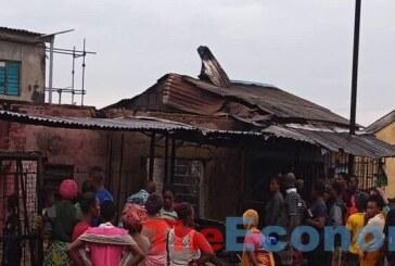 Six shops burnt in Ogudu, Lagos fire