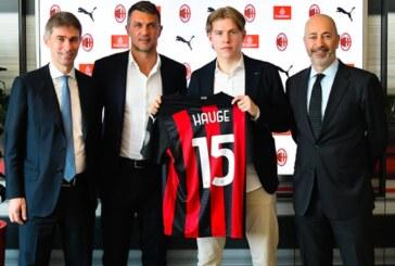 AC Milan sign Norwegian striker Hauge