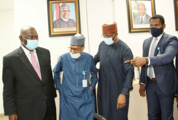 Meeting between the SEC and FINTECH Institute in Abuja