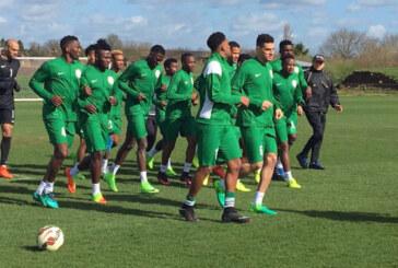 Friendlies: Eagles begin training in Austria