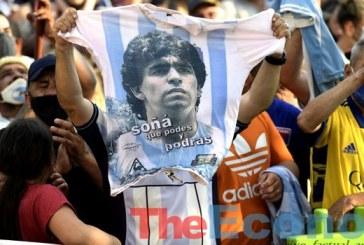 Argentines mourn Maradona