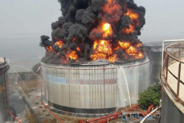 Tank fire won't disrupt fuel supply, says MOMAN
