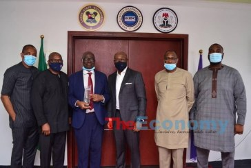 Visit of the chairman of NERC to EKEDC in Lagos