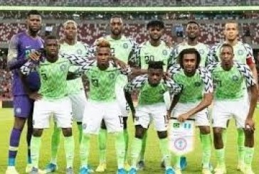 FIFA Rating: Super Eagles ranked Africa's 5th best