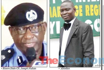 Trigger-happy cop kills Rivers 38-year-old father of three
