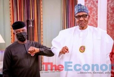 Osinbajo Updates Buhari on Implementation of Economic Sustainability Plan