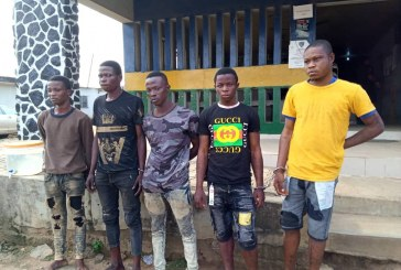 Lagos traffic robbers arrested by police
