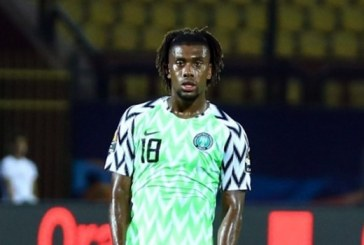 Iwobi tests positive to COVID-19