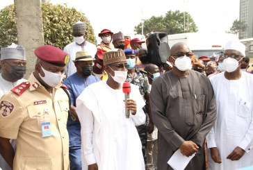 FCT Minister flags–off ministerial action against traffic violations