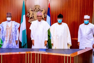2023 Politics: Buhari Receives Dimeji Bankole, Gbenga Daniel at Aso Rock