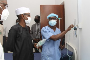 COVID-19: FCT Minister inspects upgraded oxygen supply facilities at Idu Isolation Center