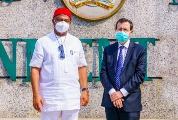 Governor Uzodimma hosts French envoy