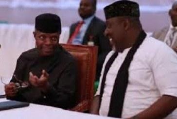 Osinbajo Meets Okorocha, Mediates in Feud with Imo Gov Uzodinma
