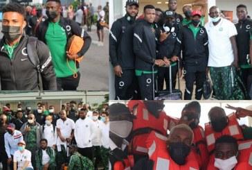 AFCON Qualifier: Super Eagles depart for Benin Match by boat