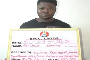 Man arrested for defrauding Bureau De Change operator of $10,000