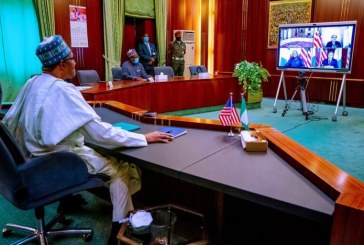 Buhari seeks U.S. support to tackle rising insecurity
