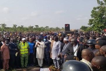 IDPs Protest Killing of Seven Members by Herdsmen, Block Makurdi-Lafia Highway