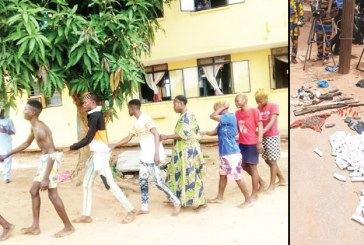 16 cultists on revenge mission arrested, paraded in Kwara