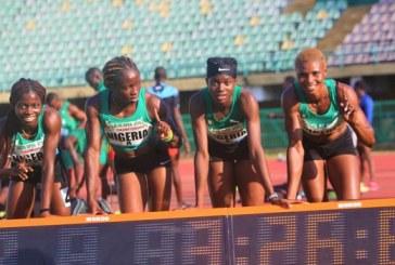 Nigeria qualify for Women's 4x400m Relay Olympics