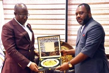 Ghana Energy Minister visits NNPC tower