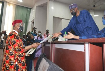 Emenike, Others Inaugurated as Chair, Governing Councils of Federal Universities