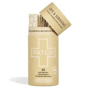 Patch Adhesive Bamboo Bandages Natural (25 pack)
