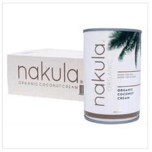 NAKULA Coconut Cream Carton Of 12 12x400g