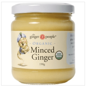 Minced Ginger Organic'