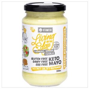 VITAWERX Keto Mayo - Living On The Edge Turmeric, Ginger & Garlic 350ml