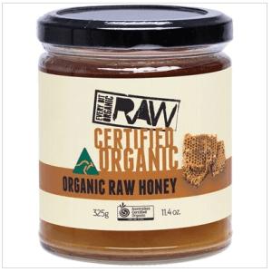 EVERY BIT ORGANIC RAW Honey Certified Organic 325g