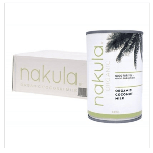 NAKULA Coconut Milk Carton Of 12 12x400g