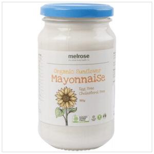 Sunflower Mayonnaise Organic 365g