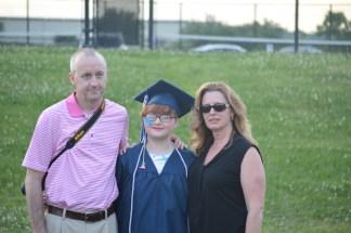 My dad, me, and his fiancé Sara