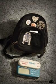 Feeding pump and mini backpack