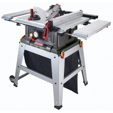 Craftsman 10 inch Table Saw with Laser Trac 21807