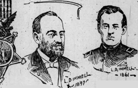 Lorenzo Dow Wall, St. Louis Globe Democrat, 1897