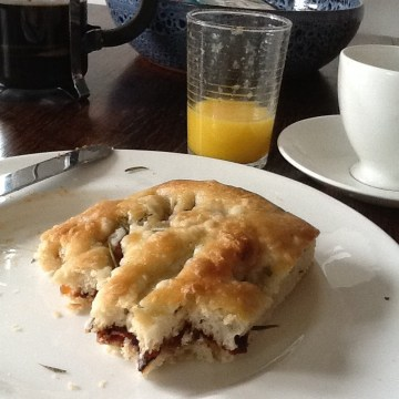 Pancetta and medjool date sandwich - The best Sunday brunch