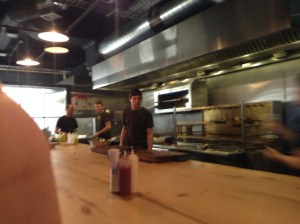 open kitchen at bird