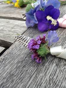 buttonhole for a lady