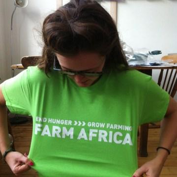 £1 challenge Farm Africa
