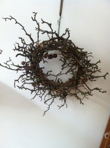 all natural long-lasting Christmas wreath