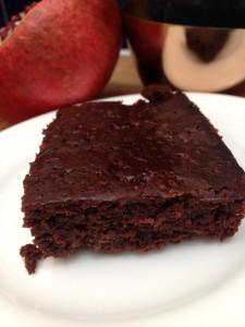 recipe for vegan chocolate orange brownies