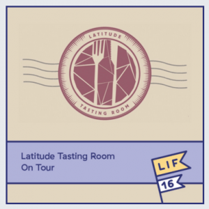 LIF16 events Latitude wine tasting