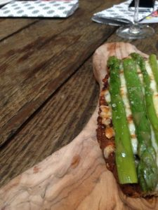 iberica leeds famous asparagus toast